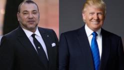 الملك محمد السادس يتوصل ببرقية تهنئة من الرئيس الأمريكي ترامب