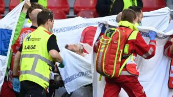 دكتور أمراض القلب يكشف سبب إصابة إريكسن في يورو 2020