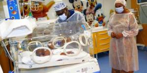 الحالة الصحية للتوائم التسعة الذين وضعتهم أم مالية بالمغرب